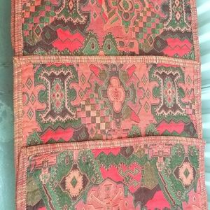 4 tapestry style pillow covers